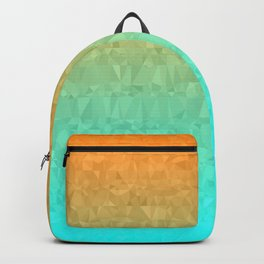 Blue and Orange Ombre - Flipped Backpack