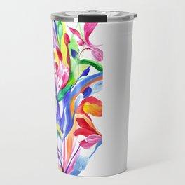 Abstract Roses 3 Travel Mug