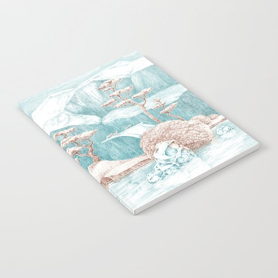 Arctic Mirage Notebook