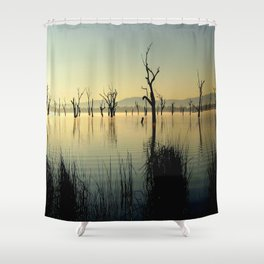 The Keepers of the Lake Shower Curtain