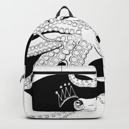 Captured by the sun - Ink artwork Backpack