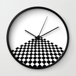 Perspective floor Wall Clock