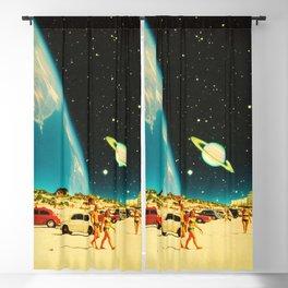 Galaxy Beach Blackout Curtain