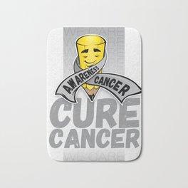 Cure Cancer Bath Mat
