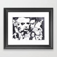 Actor's Studio Framed Art Print