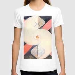 "Hilma af Klint ""The Swan, No. 21, Group IX-SUW"" T-shirt"