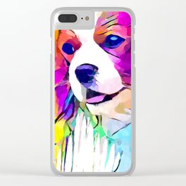Cavalier King Charles Spaniel Clear iPhone Case