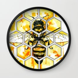Hive Mentality Wall Clock