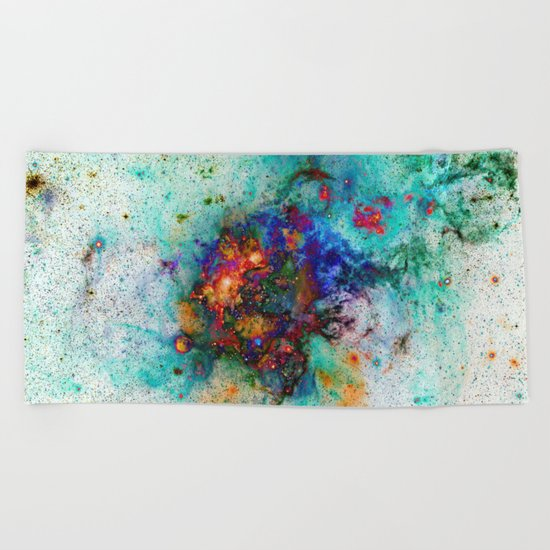 Everything is nothing 9 (therefore it was beautiful) Beach Towel