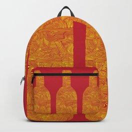 Wine Bottles Backpack