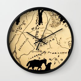 Not All Those Who Wander... Wall Clock