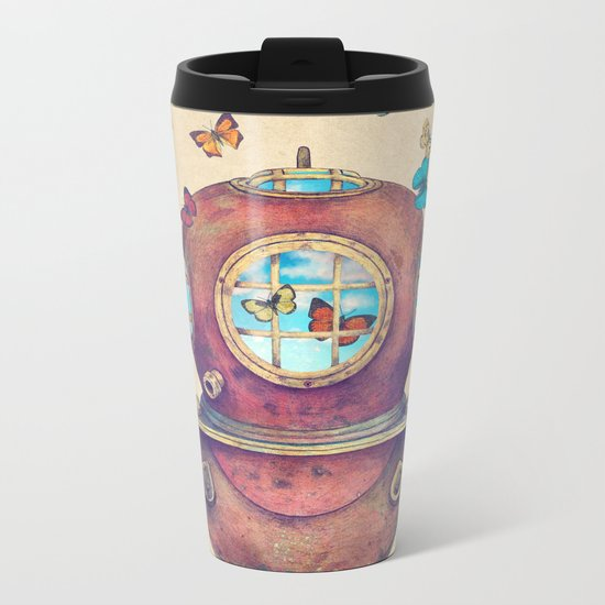 Inner Space Metal Travel Mug