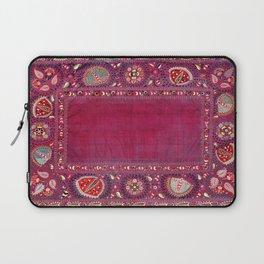 Shakhrisyabz  Southwest Uzbekistan Suzani Embroidery Print Laptop Sleeve