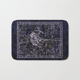 Gemini, Constellation map, Zodiac, Sign sky, Stars, Universe, astrology, astrological, signs, birth Bath Mat