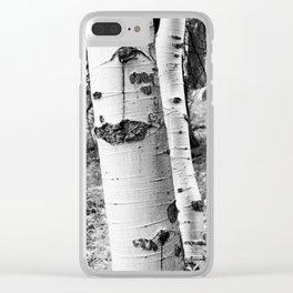 Bark Clear iPhone Case
