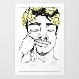 But I'm a sunflower Art Print