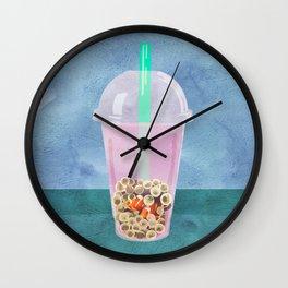 Clownfish Tea by Kenzie McFeely Wall Clock