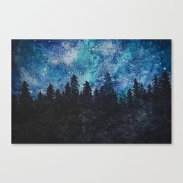 A Galaxy sky Canvas Print