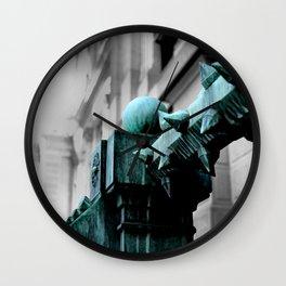 Labyrinth Scorn Wall Clock