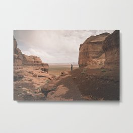 Desert Canyon Metal Print
