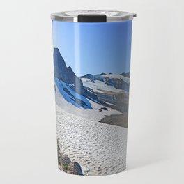 SUMMER'S LAST SNOWMELT WATER Travel Mug
