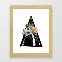 Youtriangle ∆ Zidane Framed Art Print