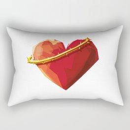 Thorny Heart Rectangular Pillow