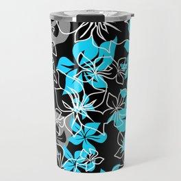 Dancing Hibiscus Hawaiian Aloha Shirt Print Travel Mug
