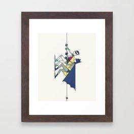 The POW! of love Framed Art Print