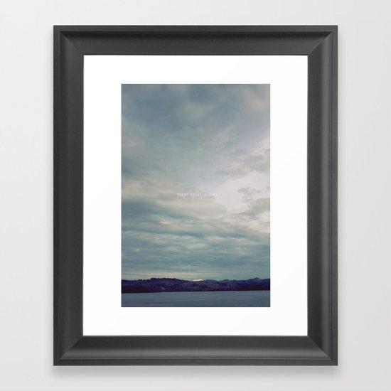 Mount St. Helens Framed Art Print