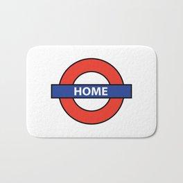 Underground Home Sign Bath Mat