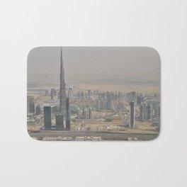Dubai #society6 #decor #buyart Bath Mat