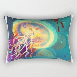 Exploration Motivation Rectangular Pillow