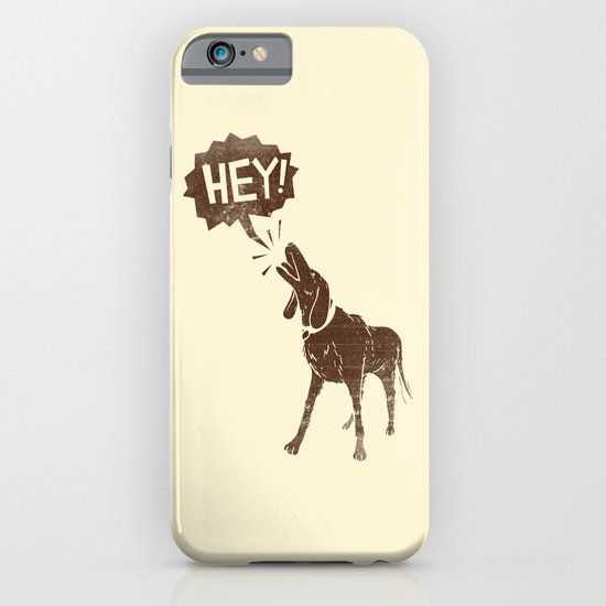 Dogs have a lot to Say iPhone & iPod Case