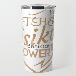 the Besiktas power 1903 Travel Mug