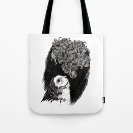 Owl Smoke Tote Bag
