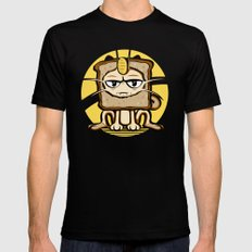Meowth Breading Mens Fitted Tee MEDIUM Black