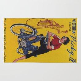 Vintage poster - Moped Rug