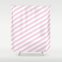 Pastel stripes Shower Curtain
