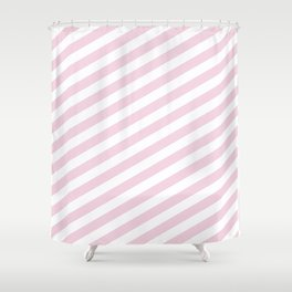 Pastel stripes Shower Curtain