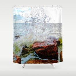 Texas Gulf Coast Shower Curtain