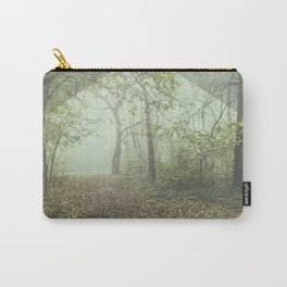 Walk in the Surreal Misty Forest Carry-All Pouch