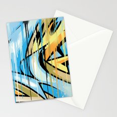Drips war Stationery Cards