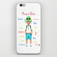 Angryocto - Joun's Math grade iPhone & iPod Skin