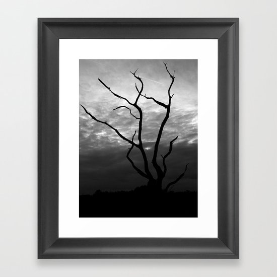 Skyquake Framed Art Print
