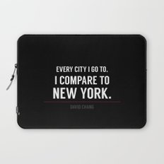 New York Is the Only City for Me Laptop Sleeve