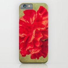 Red Carnation. Slim Case iPhone 6s