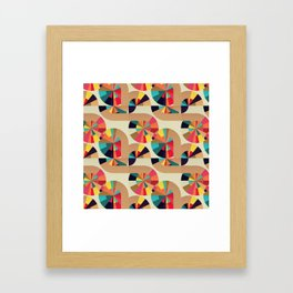 Kaleidoscope Pattern Framed Art Print