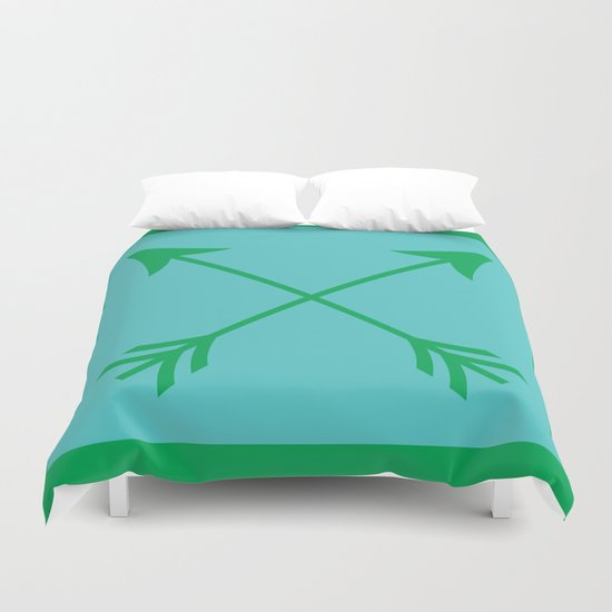 Crossed Arrows Duvet Cover