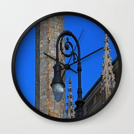 Old West End Our Lady Queen of the Most Holy Rosary Cathedral Light- horizontal Wall Clock